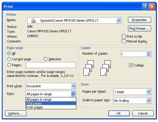 Hướng dẫn in hai mặt giấy trong Word, PDF, Excel