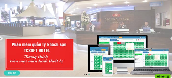 Phần mềm quản lý khách sạn TCSOFT HOTEL