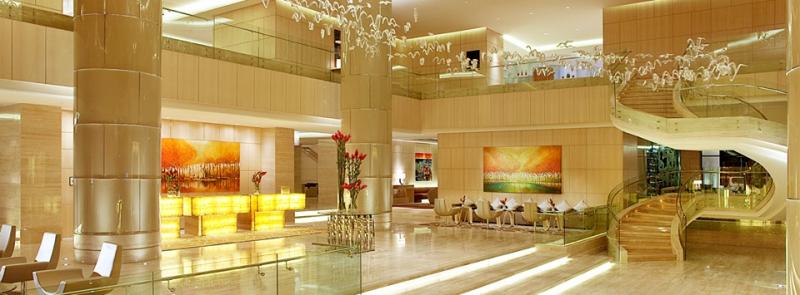 Phong cảnh nên thơ hữu tình kết hợp với Khách sạn sang trọng đã tạo nên một Sheraton đẹp tựa như bức tranh vẽ