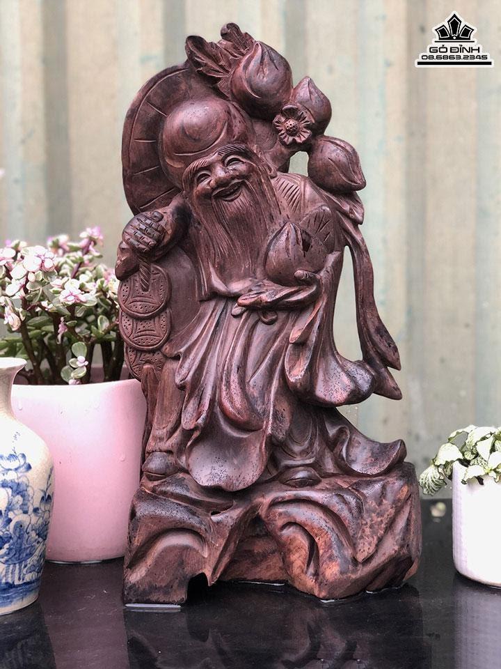 Tượng gỗ Ông Thọ