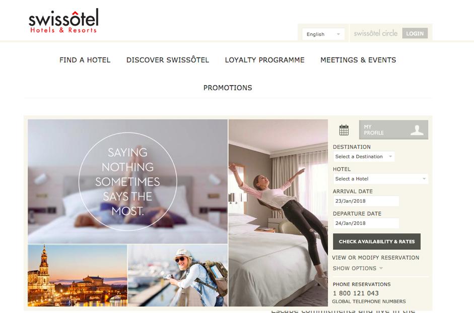 Thiết kế website khách sạn: 5 lưu ý và 10 mẫu giao diện đẹp mắt